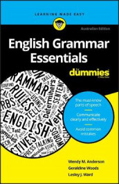 English Grammar Essentials For Dummies av Wendy M. Anderson, Lesley J. Ward og Geraldine Woods (Heftet)