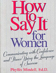 A Womans Guide to the Language of Success av Phyllis Mindell (Heftet)