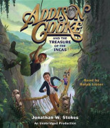 Omslag - Addison Cooke and the Treasure of the Incas