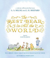 The Best Bear in All the World av Paul Bright, Kate Saunders, Brian Sibley og Jeanne Willis (Lydbok-CD)