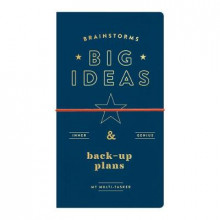 Brainstorms, Big Ideas And Back-up Plans Multi-tasker Journal av Galison (Almanakk)