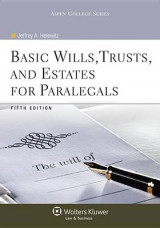 Omslag - Basic Wills, Trusts, and Estates for Paralegals
