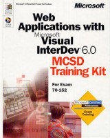Omslag - Web applications with Microsoft Visual InterDev 6.0