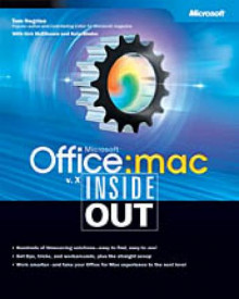 Microsoft Office v.X:Mac av Tom Negrino, Kirk McElhearn og Kate Binder (Heftet)