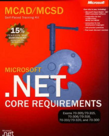 Microsoft .NET core requirements av Jeff Webb og Matthew A. Stoecker (Heftet)