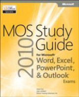 Omslag - MOS 2010 Study Guide for Microsoft Word, Excel, PowerPoint, and Outlook Exams