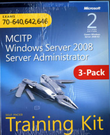 MCITP Windows Server 2008 Server Administrator: Training Kit 3-Pack: Exams av Dan Holme, Nelson Ruest, Danielle Ruest og Tony Northrup (Heftet)