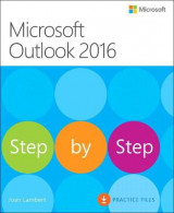Omslag - Microsoft Outlook 2016 Step by Step