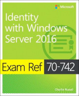 Omslag - Exam Ref 70-742 Identity with Windows Server 2016