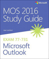 Omslag - MOS 2016 Study Guide for Microsoft Outlook