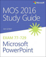 Omslag - MOS 2016 Study Guide for Microsoft Powerpoint