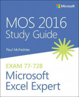 Omslag - MOS 2016 Study Guide for Microsoft Excel Expert