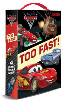 Cars 2: Too Fast! Boxed Set (Pappbok)