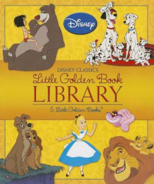 Disney Classics Little Golden Book Library av Various (Innbundet)