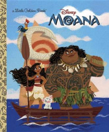 Moana Little Golden Book av Andrea Posner-Sanchez (Innbundet)