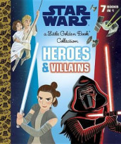 Heroes and Villains Little Golden Book Collection (Star Wars) av Golden Books (Innbundet)