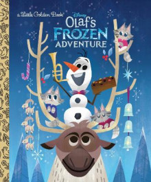 Olaf's Frozen Adventure Little Golden Book (Disney Frozen) av Andrea Posner-Sanchez (Innbundet)