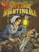 Omslag - Florence Nightingale: Lady with the Lamp (Graphic Biographies)