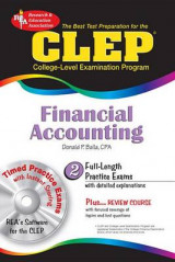 Omslag - CLEP Financial Accounting W/ CD-ROM