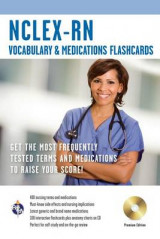 Omslag - NCLEX-RN Vocabulary and Medications Flashcard Book W/ CD