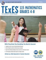 Omslag - TExES Mathematics 4-8 (115) Book + Online