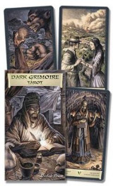 Omslag - The Dark Grimoire Tarot