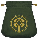 Omslag - Celtic Tree Velvet Tarot Bag