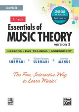 Omslag - Alfred's Essentials of Music Theory Software, Version 3.0