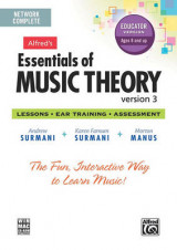 Omslag - Alfred's Essentials of Music Theory Software, Version 3 Network Version, Complete Volume