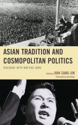 Omslag - Asian Tradition and Cosmopolitan Politics