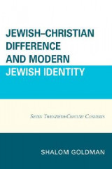 Omslag - Jewish-Christian Difference and Modern Jewish Identity