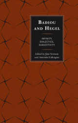 Omslag - Badiou and Hegel