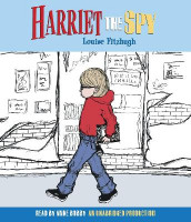 Harriet the Spy av Louise Fitzhugh (Lydbok-CD)