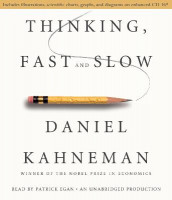 Thinking, Fast and Slow av Daniel Kahneman (Lydbok-CD)
