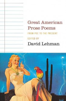 Great American Prose Poems av LEHMAN (Heftet)
