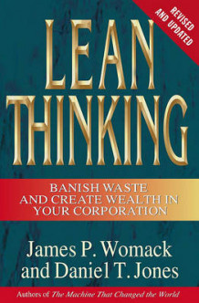 Lean Thinking av James P Womack og Daniel T Jones (Innbundet)