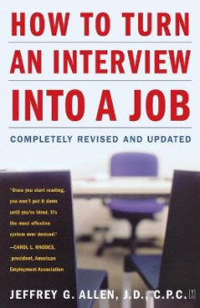 How to Turn an Interview into a Job av Jeffrey G. Allen (Heftet)