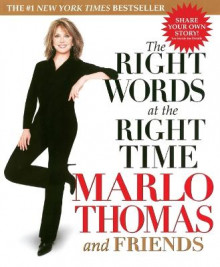 The Right Words at the Right Time av Marlo Thomas (Heftet)