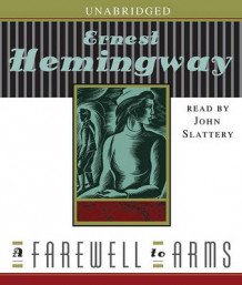 A Farewell to Arms av Ernest Hemingway (Lydbok-CD)