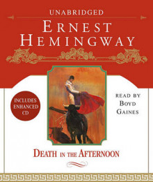 Death In the Afternoon av Hemingway (Lydbok-CD)