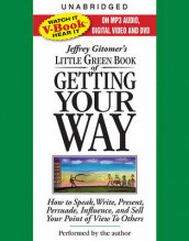 The Little Green Book of Getting Your Way av Jeffrey Gitomer (Lydbok-CD)