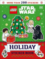 Omslag - Lego Star Wars Holiday Sticker Book