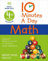 Omslag - 10 Minutes a Day Math, 4th Grade