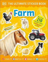 Omslag - The Ultimate Sticker Book Farm