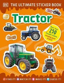 The Ultimate Sticker Book Tractor av DK (Heftet)