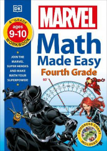 Marvel Math Made Easy, Fourth Grade av DK (Heftet)