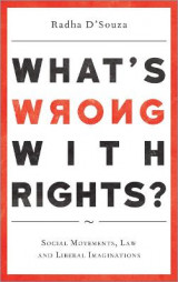 Omslag - What's Wrong with Rights?
