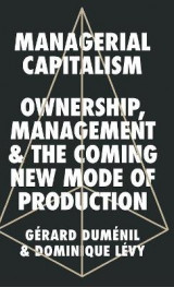 Omslag - Managerial Capitalism
