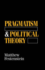 Omslag - Pragmatism and Political Theory