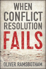 Omslag - When Conflict Resolution Fails